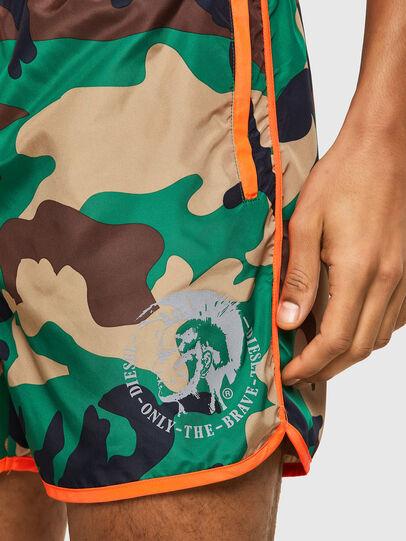Diesel - BMBX-REEF-40, Green Camouflage - Swim shorts - Image 3