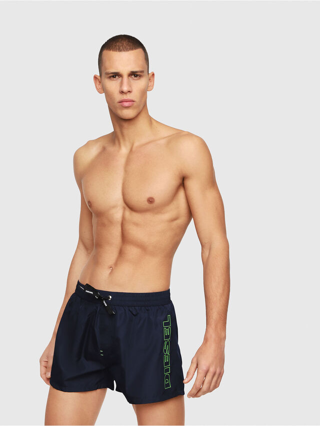 Diesel - BMBX-SANDY 2.017, Dark Blue - Swim shorts - Image 1