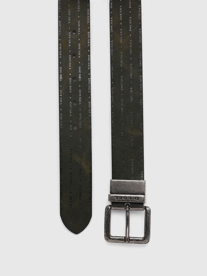 Diesel - B-DOUCKLE, Dark Green - Belts - Image 5