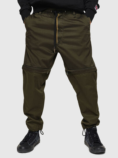 Diesel - P-CASHORT, Military Green - Pants - Image 1