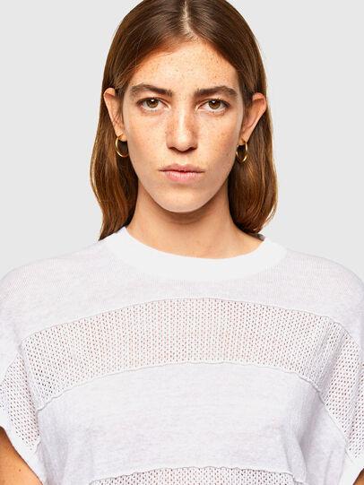 Diesel - M-AMETHYST, White - Knitwear - Image 3