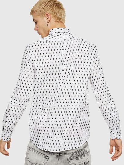 Diesel - S-VEN-SKULL, White - Shirts - Image 2