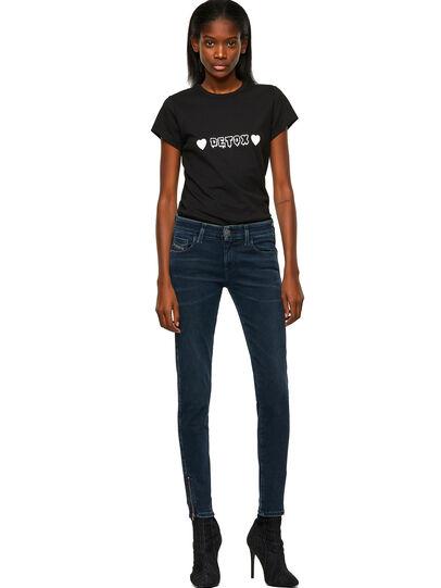 Diesel - Slandy Low 009QF, Dark Blue - Jeans - Image 5