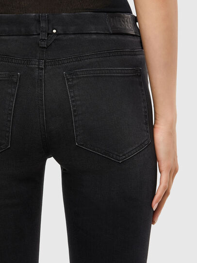 Diesel - Slandy-B 069QN, Black/Dark grey - Jeans - Image 4