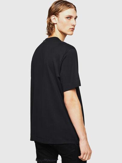 Diesel - TEORIALE-X2, Black - T-Shirts - Image 2