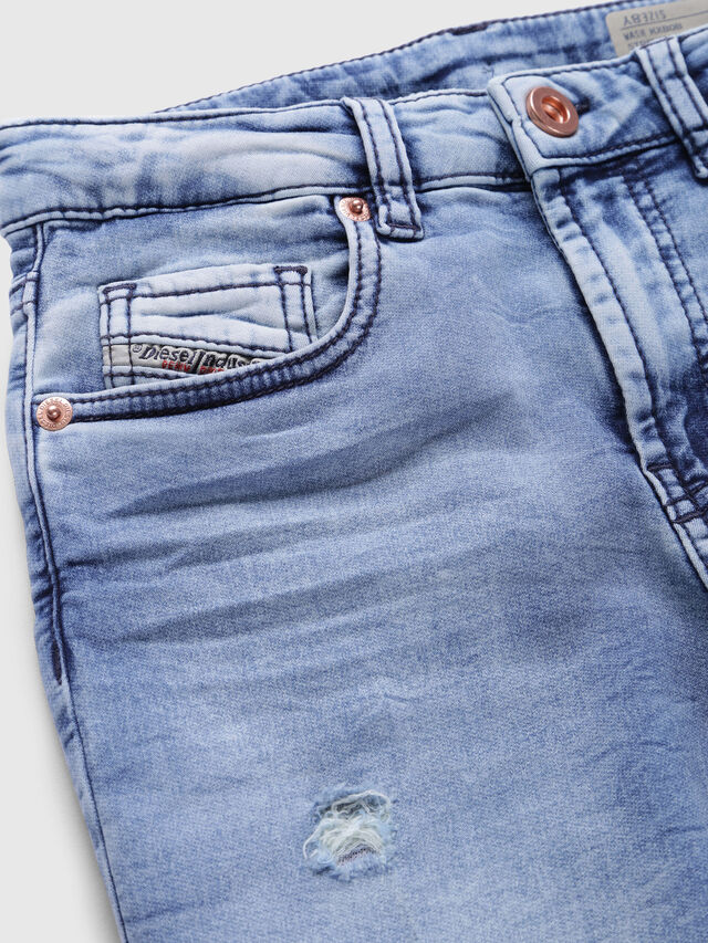 Diesel - ARYEL-J JOGGJEANS, Light Blue - Jeans - Image 3