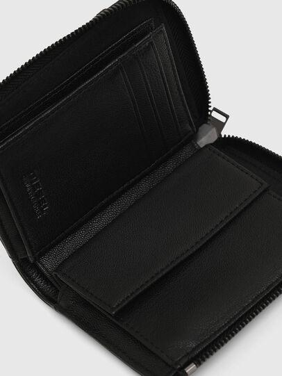 Diesel - L-12 ZIP, Black - Zip-Round Wallets - Image 4