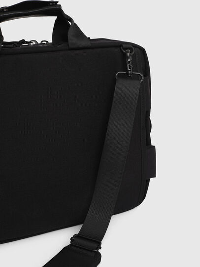 Diesel - F-URBHANITY BRIEFCAS, Black - Briefcases - Image 4