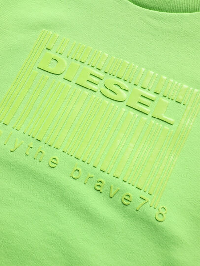 Diesel - SCOLIGCODE OVER, Green Fluo - Sweaters - Image 3