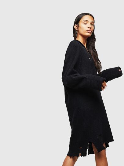 Diesel - M-NOELIA, Black - Knitwear - Image 5