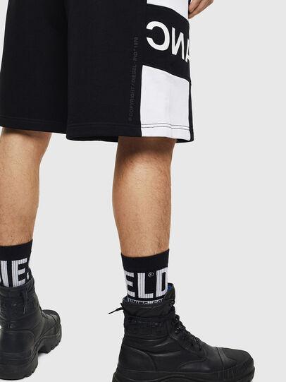 Diesel - P-SHAM, Black/White - Shorts - Image 4