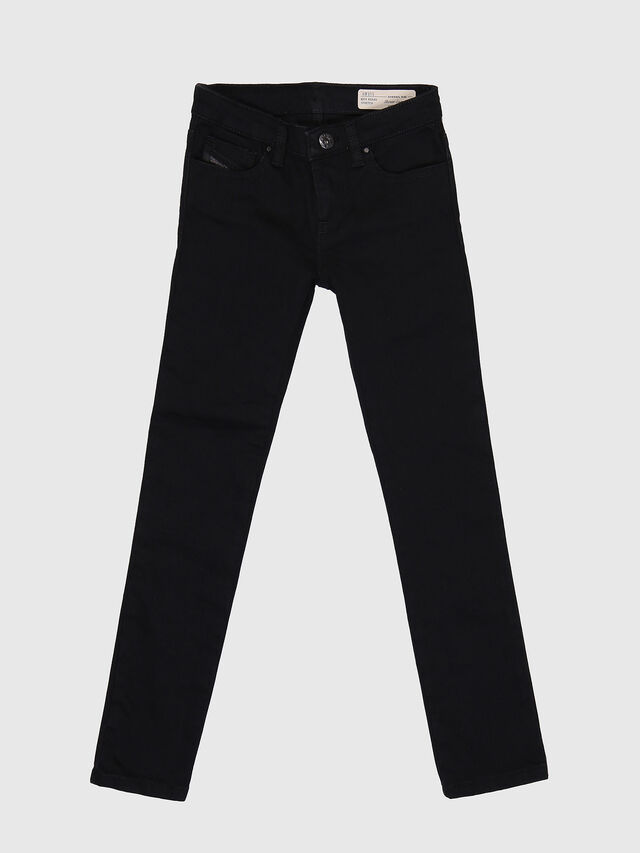 KIDS SKINZEE-LOW-J-N, Black - Jeans - Image 1