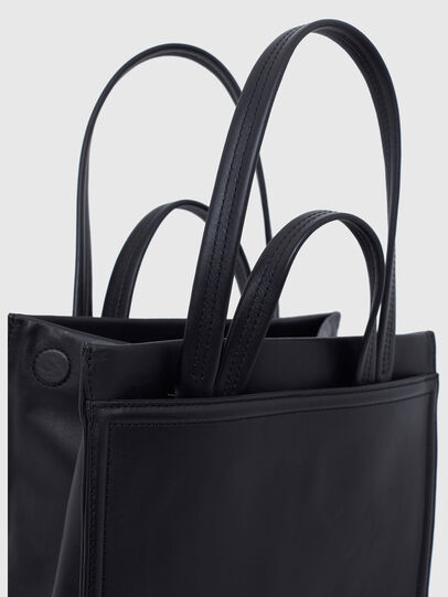Diesel - AMETISTA, Black - Shopping and Shoulder Bags - Image 4