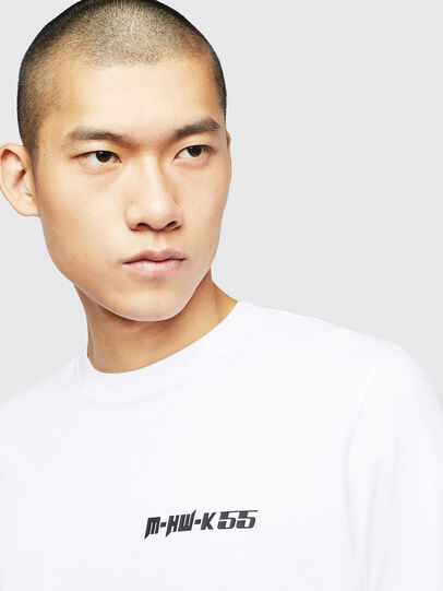 Diesel - T-JUST-B31, White - T-Shirts - Image 3