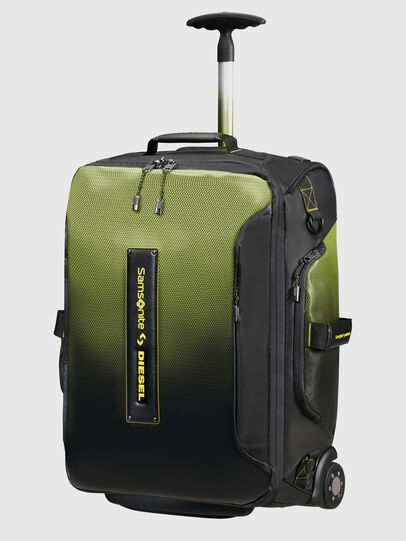 Diesel - KA2*69008 - PARADIVE, Black/Yellow - Duffles with wheels - Image 2