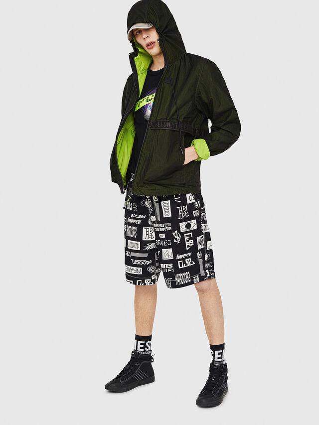 Diesel - J-HISAMI, Dark Green - Jackets - Image 5
