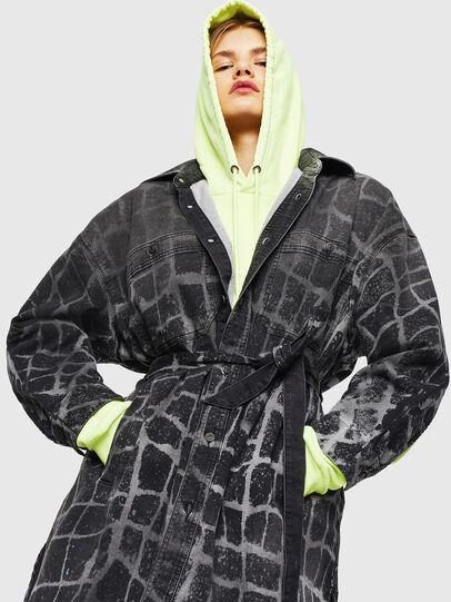 Diesel - D-PINKIES-SP JOGGJEANS, Black/Dark grey - Dresses - Image 4