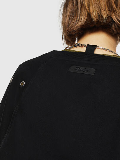 Diesel - F-HENNY-B, Black - Sweaters - Image 5