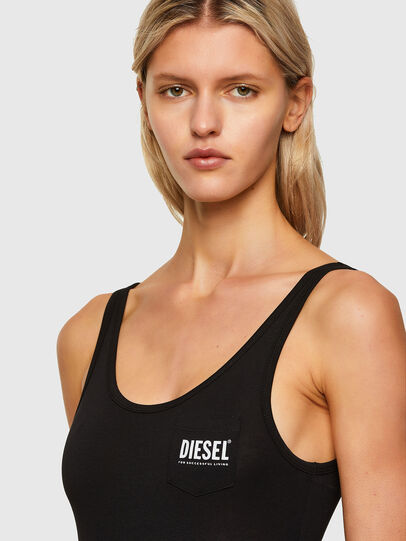 Diesel - UFBY-BODYHI, Black - Bodysuits - Image 3