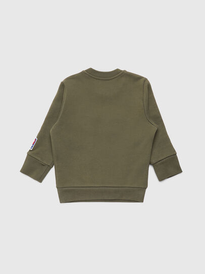 Diesel - SCREWDIVISIONB-D-R, Military Green - Sweaters - Image 2