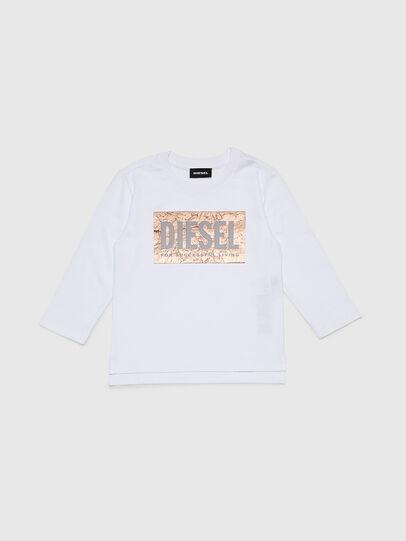 Diesel - TIRRIB-R, White - T-shirts and Tops - Image 1