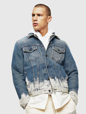 NHILL, Light Blue - Denim Jackets