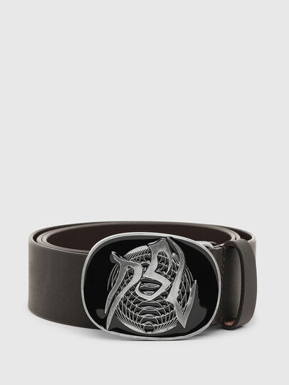 Diesel - B-VASCKY, Dark Brown - Belts - Image 1
