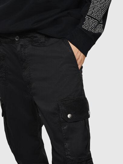 Diesel - P-PHANTOSKY, Black - Pants - Image 3