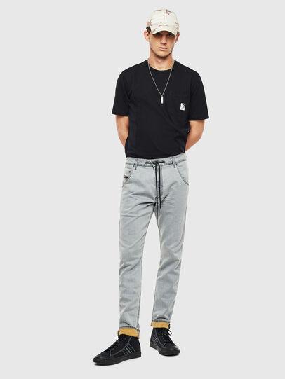 Diesel - Krooley JoggJeans 069MH, Grey - Jeans - Image 7
