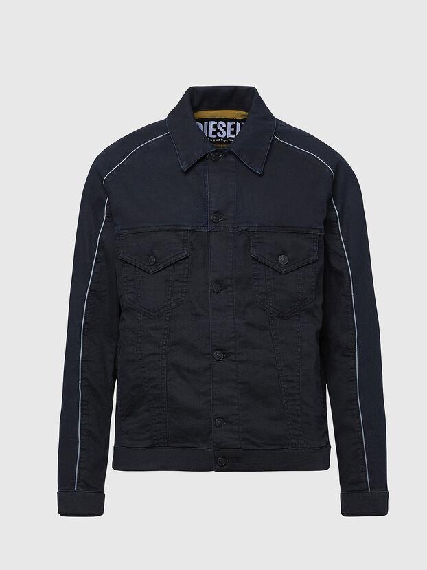 D-BRAVY-SP JOGGJEANS, Black - Denim Jackets
