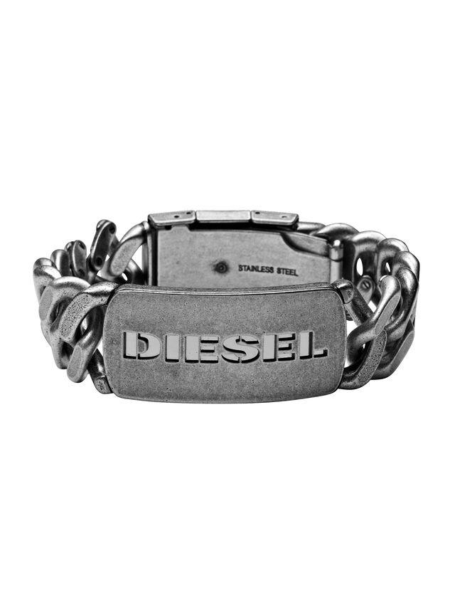 Diesel - BRACELET DX0656, Silver - Bracelets - Image 1