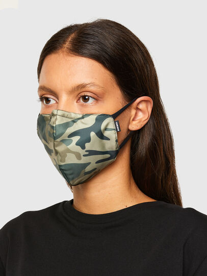 Diesel - FACEMASK-CMF-A, Military Green - Other Accessories - Image 3