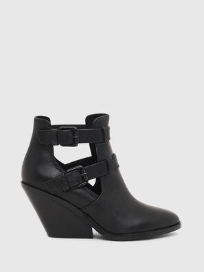 D-FLAMINGO OB, Black - Ankle Boots