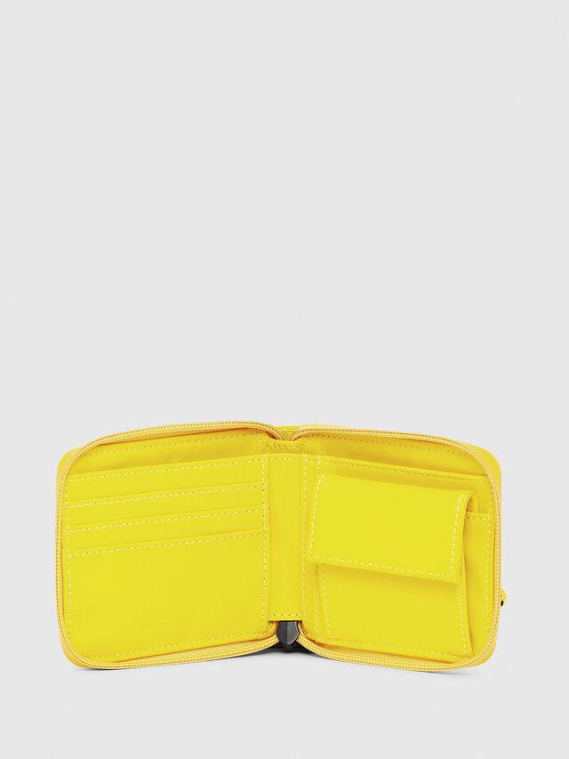 Diesel - ZIPPY HIRESH S, Yellow - Zip-Round Wallets - Image 3