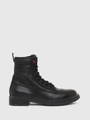 D-THROUPER DBB W Z, Black - Ankle Boots