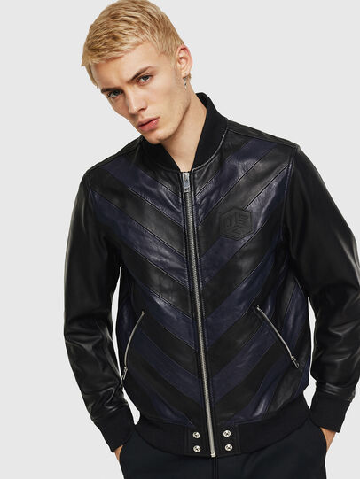Diesel - L-OLEG,  - Leather jackets - Image 1
