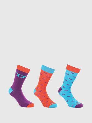 SKM-RAY-THREEPACK, Multicolor - Socks