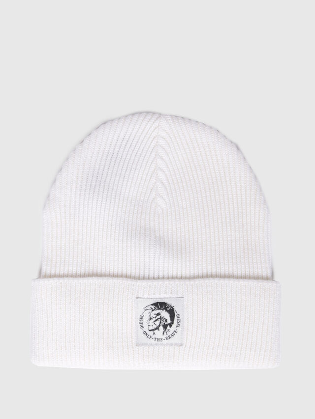 23a686a995d K-CODER  Wool-and-cotton beanie with mohawk logo
