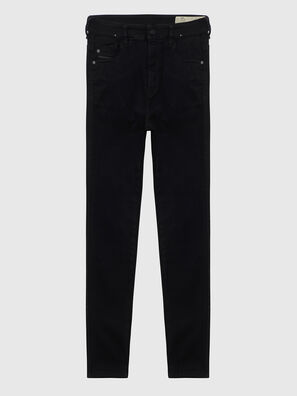 Slandy High A69EF, Black/Dark grey - Jeans