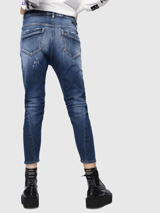 Diesel - Fayza JoggJeans 087AK, Dark Blue - Jeans - Image 2