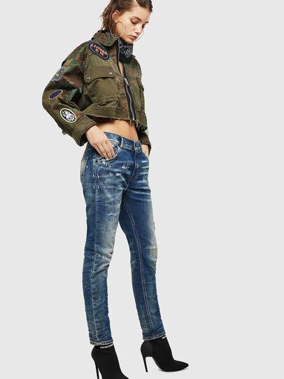 Diesel - Krailey JoggJeans 0870Q, Medium blue - Jeans - Image 6