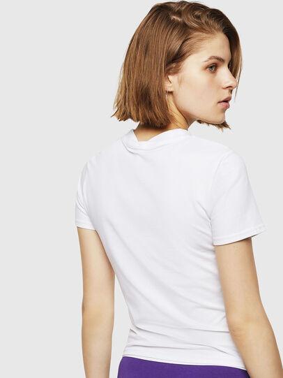 Diesel - UFTEE-ROUNDFEM, White - T-Shirts - Image 2