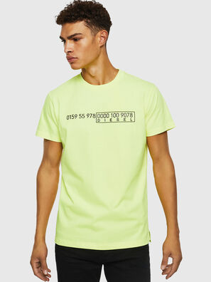T-DIEGO-SLITS-J6, Yellow Fluo - T-Shirts