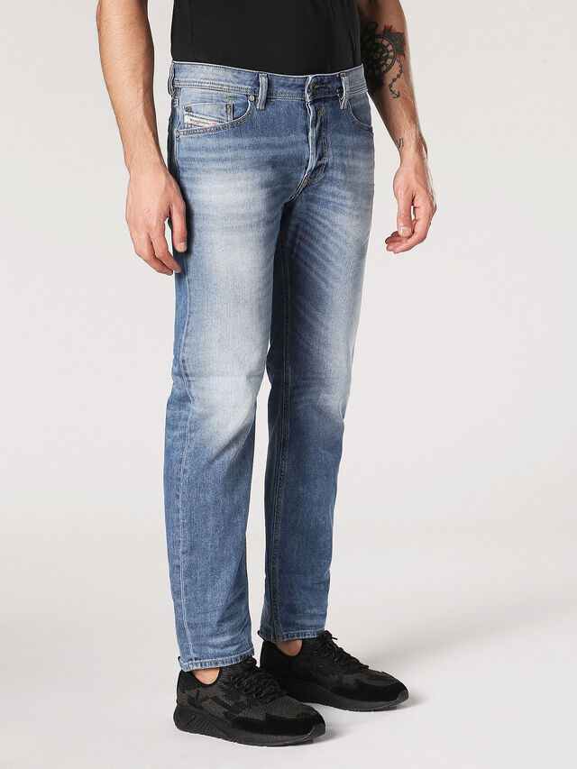 Diesel - Waykee 0842H, Light Blue - Jeans - Image 4