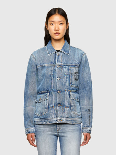 Diesel - CL-D-BIL, Light Blue - Denim Jackets - Image 2