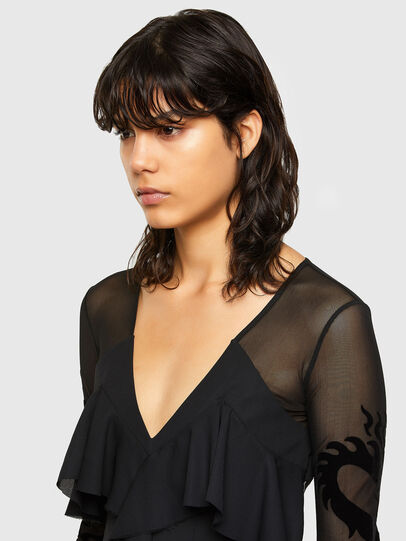 Diesel - D-ADELE, Black - Dresses - Image 4