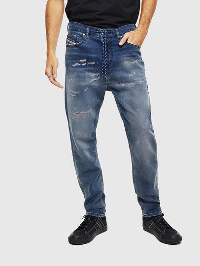 Diesel - D-Vider JoggJeans 069LW, Dark Blue - Jeans - Image 3