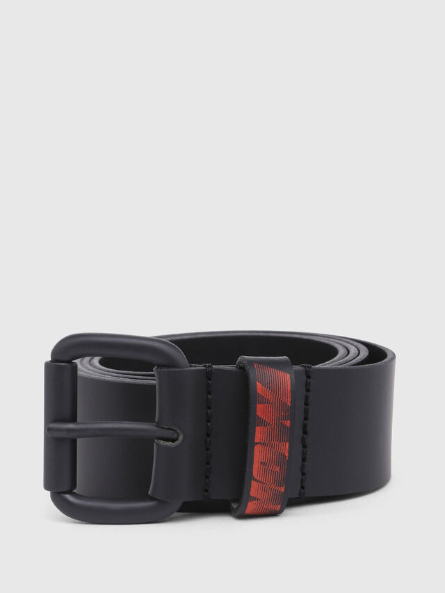 Diesel - SHOOTING 8, Black/Red - Belts - Image 1