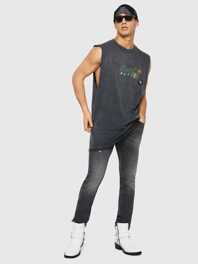 Diesel - Thommer 069DM, Black/Dark grey - Jeans - Image 6