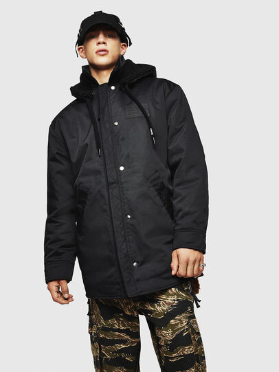 Diesel - W-PELSTIC,  - Winter Jackets - Image 1